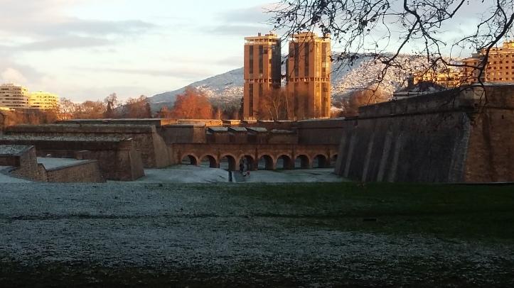 Nieve en Pamplona 1